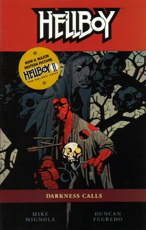Hellboy Darkness Calls Graphic Novel Trade Paperback Mike Mignola Dark Horse Comics